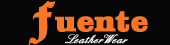 fuente leather wears logo