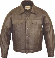 Leather Jacket Jeans Style Buffalo Antique Leather