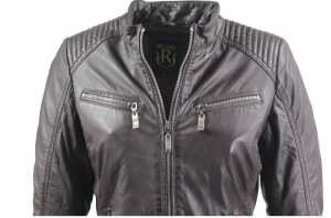 Leather Jacket Ricano Rihanna Lambskin Leather brown