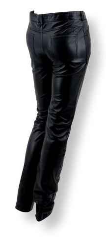 Lederhose Levinsky New Jeans schwarz
