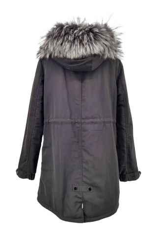 Daunenjacke Levinsky Furs Mara schwarz