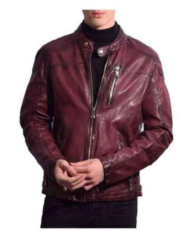 Leather Jacket Ricano Josh Red