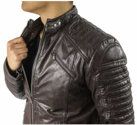 Leather Jacket Ricano 410 Lambskinleather Vintage-Brown