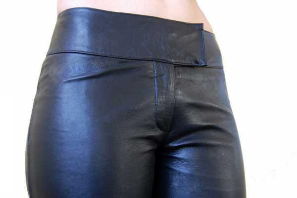 Lederhose Ricano Low Cut 2 schwarz