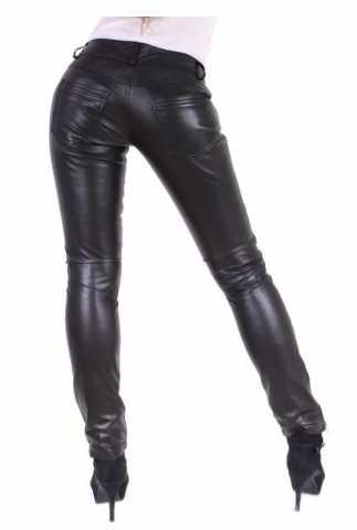 Lederhose Ricano Tally Pants schwarz
