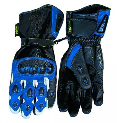 Racing-Handschuh Carbon schwarz