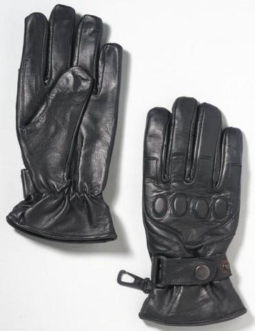 Skorpion Lederhandschuh Rindnappaleder schwarz