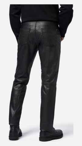 Lederhose Ricano Trant Pant schwarz