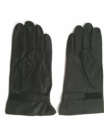 Lederhandschuhe Nappaleder schwarz ungefüttert
