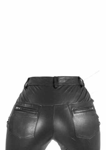 Lederhose Ricano 9810 II schwarz